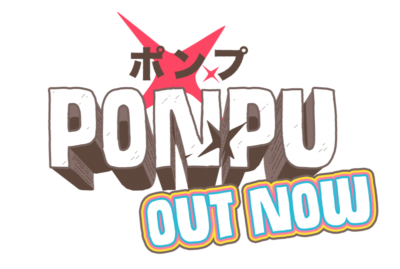 Ponpu logo HD FLAT OUT NOW